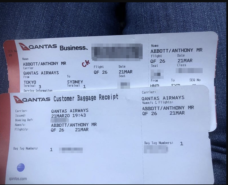 the boarding pass photo