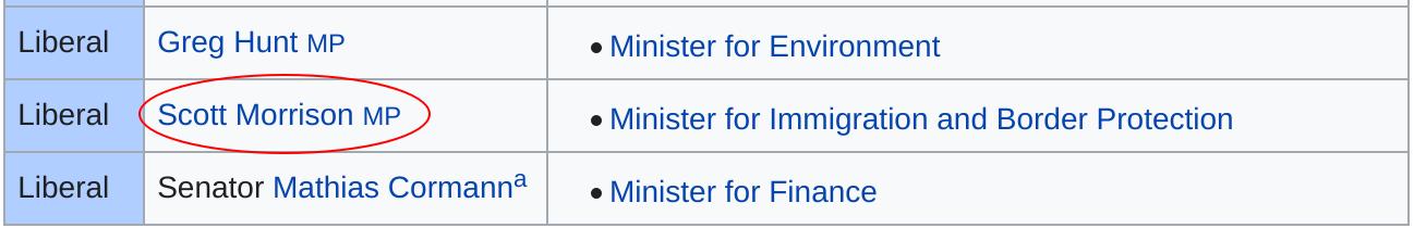 Screenshot of Scomo in the list
